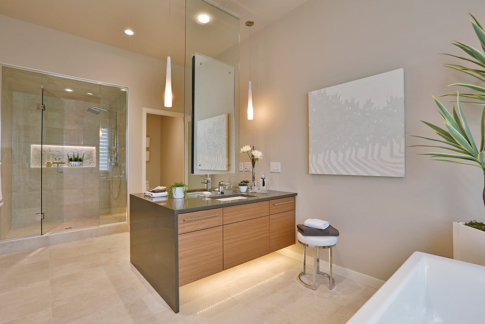 Rose Lake Show Home Ensuite