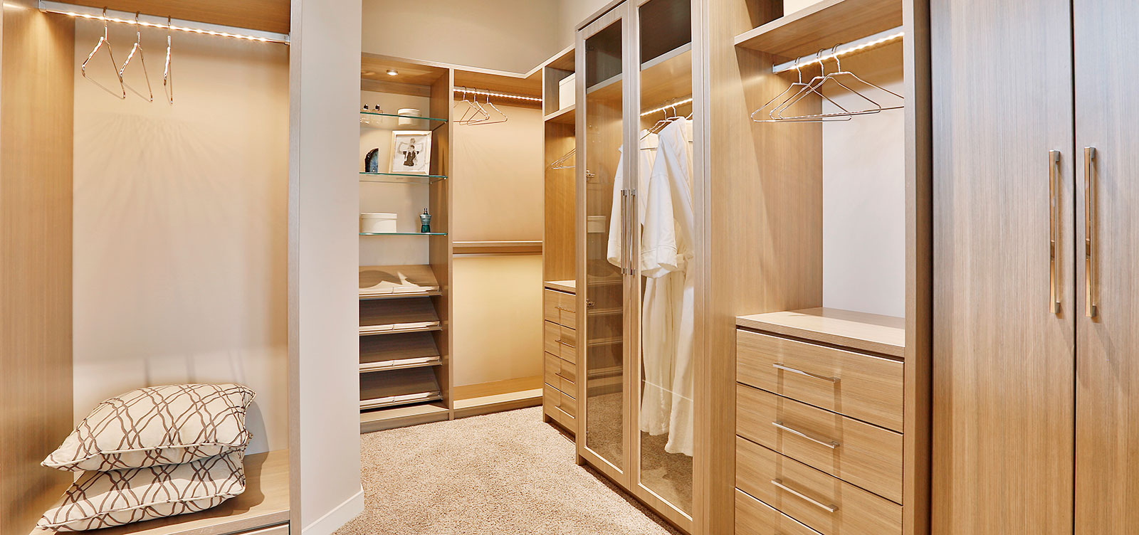 Rose Lake Court Walk-in Closet