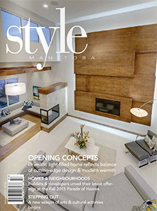 Style Manitoba Fall 2015 Cover